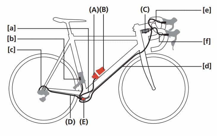 Di2 wiring diagram fully external
