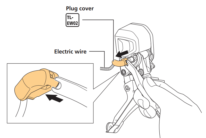 Disconnect the electric wire